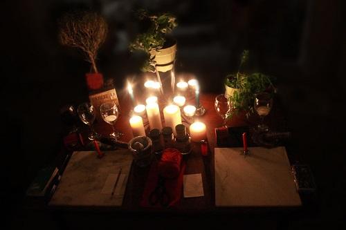 witch altar
