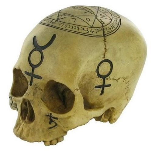 witch skull