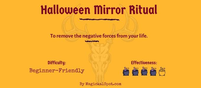 Halloween Mirror Ritual