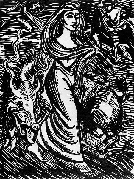 Lilith by Ernst-Barlach-1922