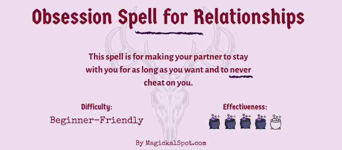 Obsession Spell for Relationships