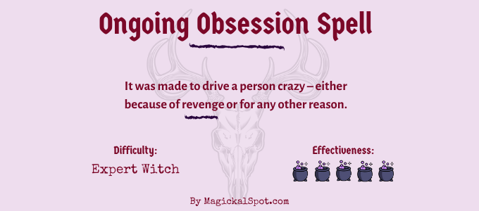 Ongoing Obsession Spell