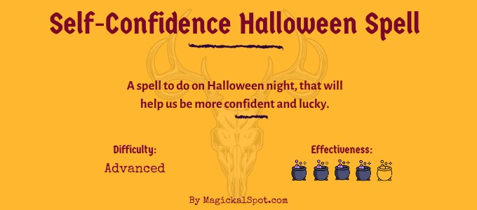 Self-Confidence Halloween Spell