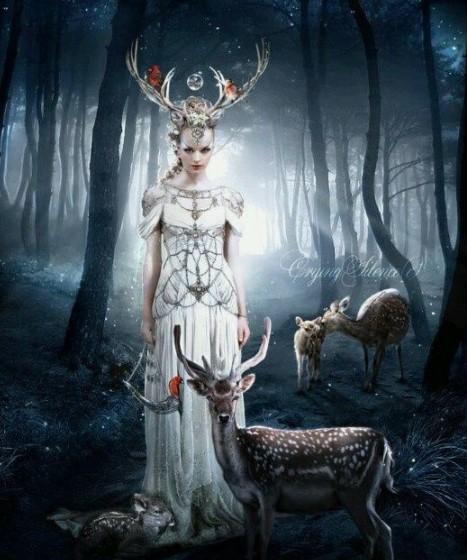 goddess Flidais