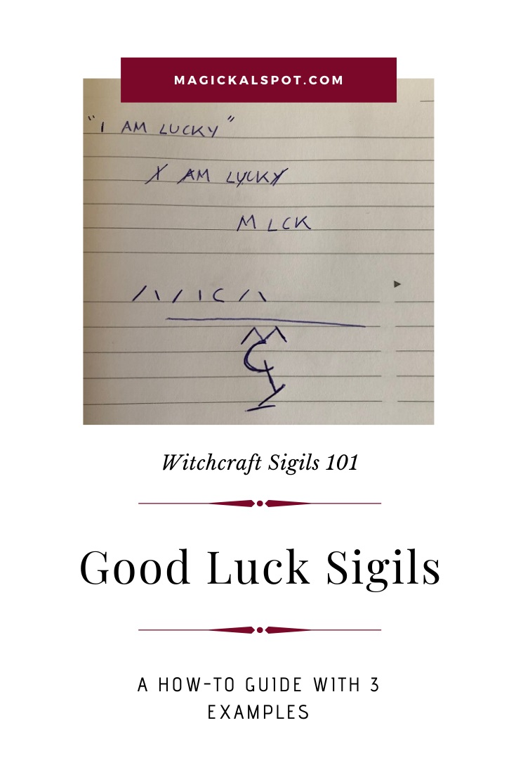 Free Examples of a Good Luck Sigil by MagickalSpot