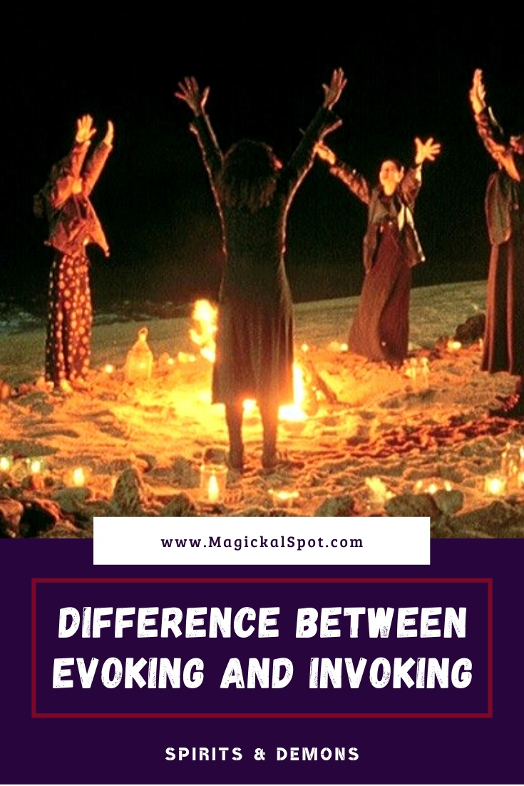 Difference Between Evoking and Invoking by MagickalSpot
