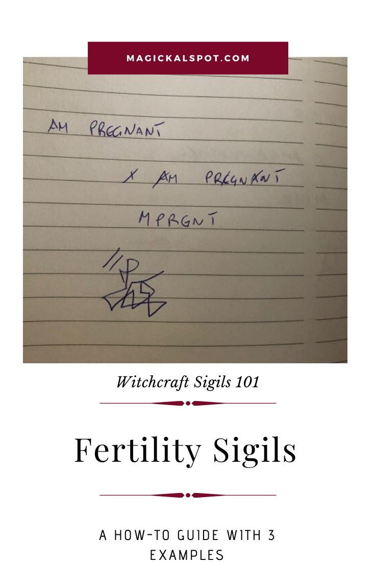 Examples of a Fertility Sigil by MagickalSpot