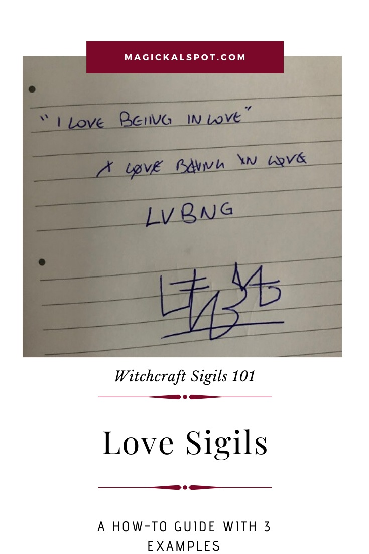 Free Examples of a Love Sigil by MagickalSpot