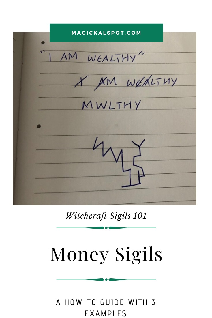 Free Examples of a Money Sigil by MagickalSpot
