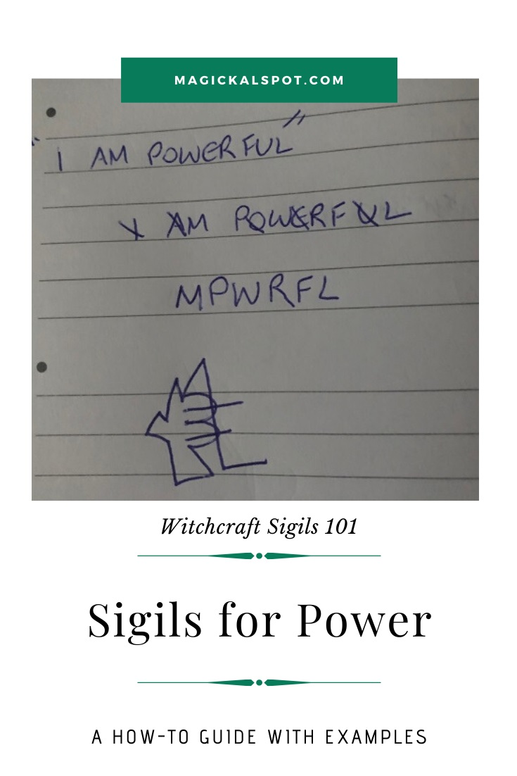 Free Examples of a Sigil for Power by MagickalSpot