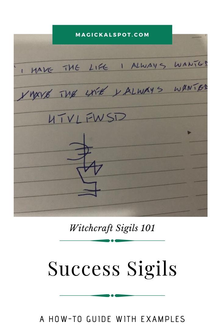 Free Examples of a Success Sigil by MagickalSpot