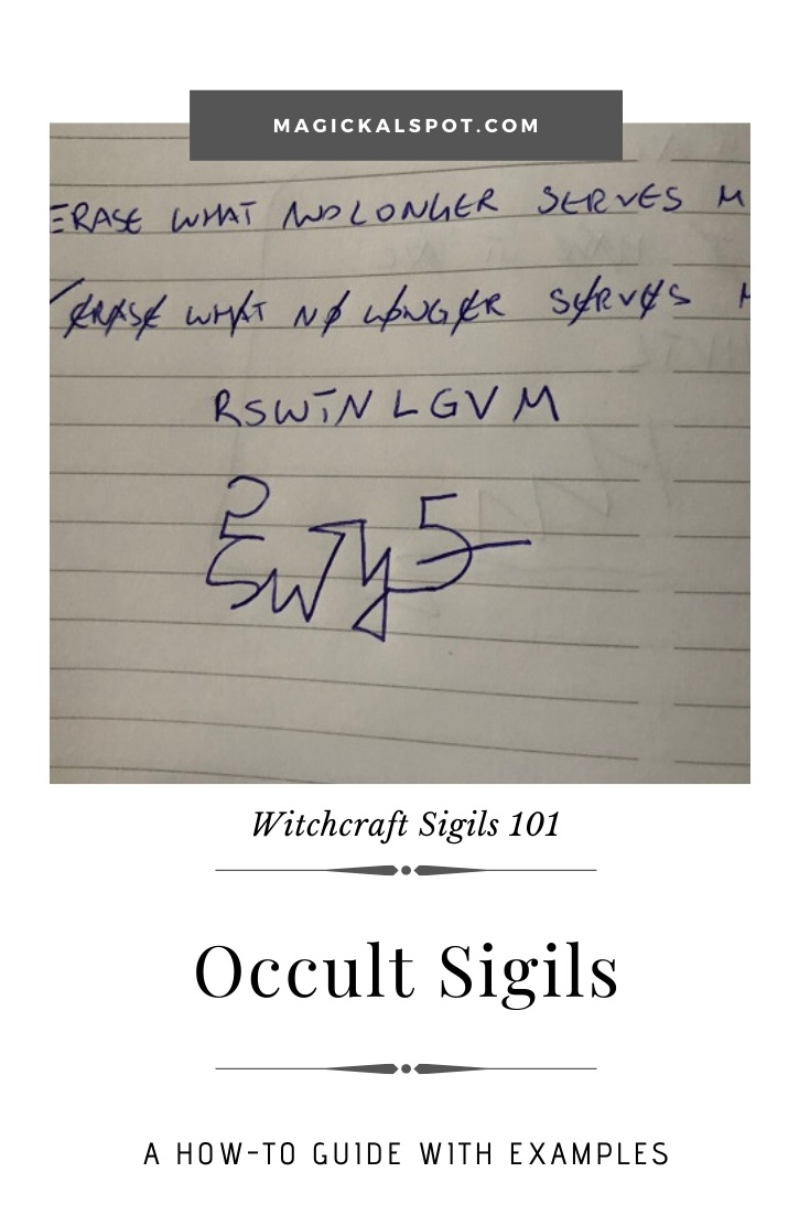 Free Examples of the Occult Sigil by MagickalSpot