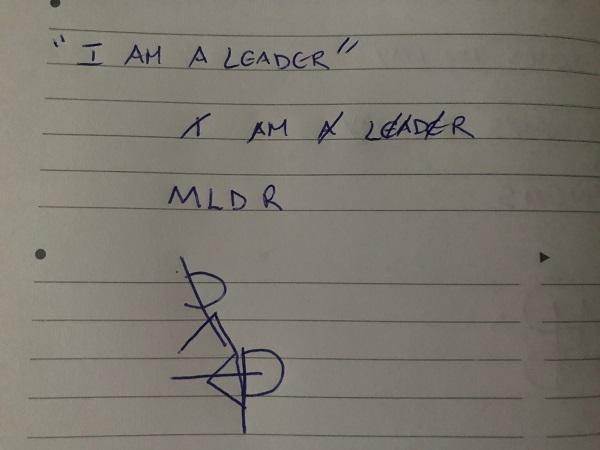 I am a leader sigil