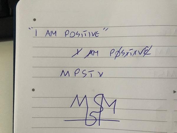 I am positive sigil