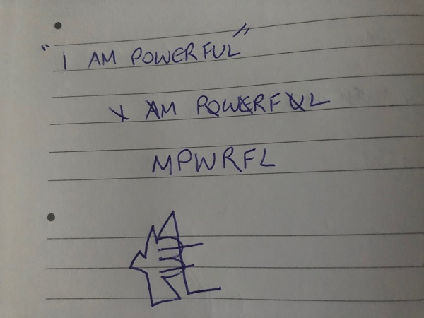 I am powerful sigil