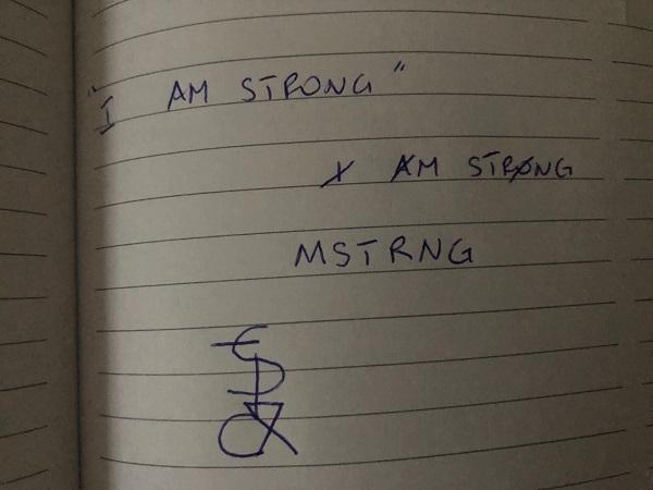 I am strong sigil