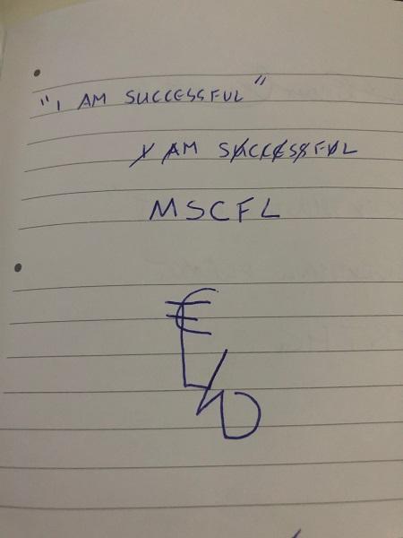 I am successful sigil