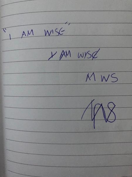 I am wise sigil