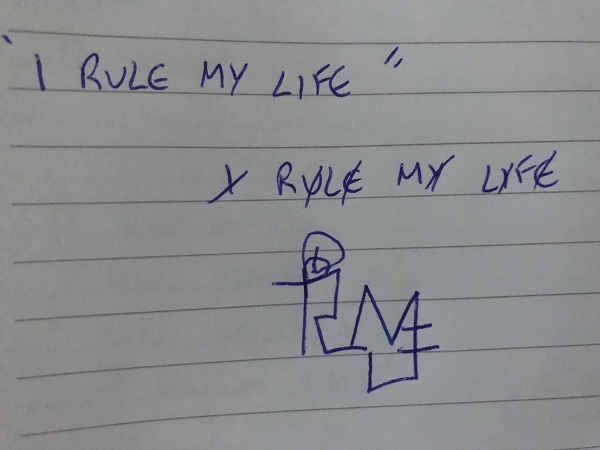 I rule my life sigil