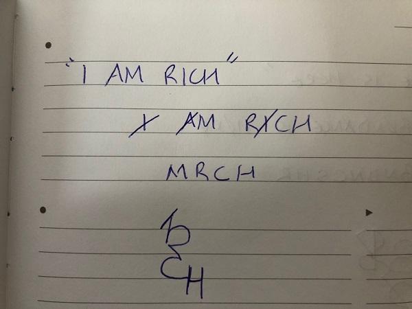i am rich sigil