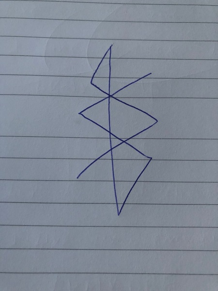 traditional saturn sigil