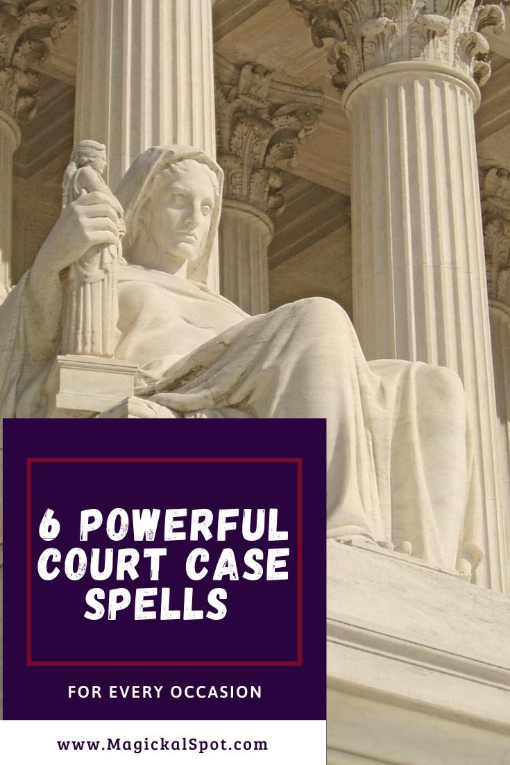 6 Powerful Court Case Spells by MagickalSpot