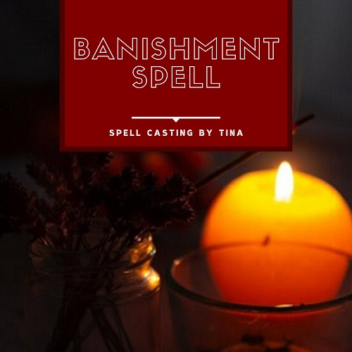 Banishment Spell casting