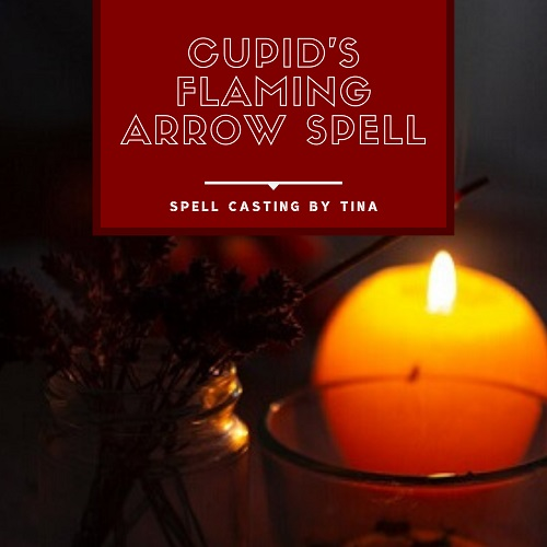 Cupids Flaming Arrow Spell casting