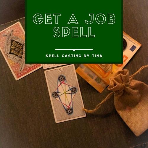 Get a Job Spell casting