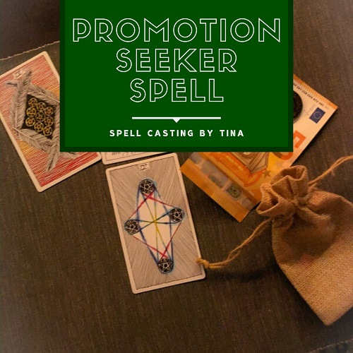 Promotion Seeker Spell casting