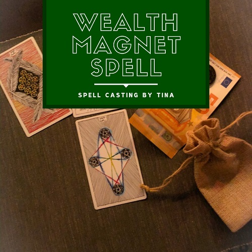 Wealth Magnet Spell casting