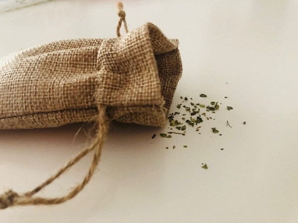herbal bag by Tina Caro