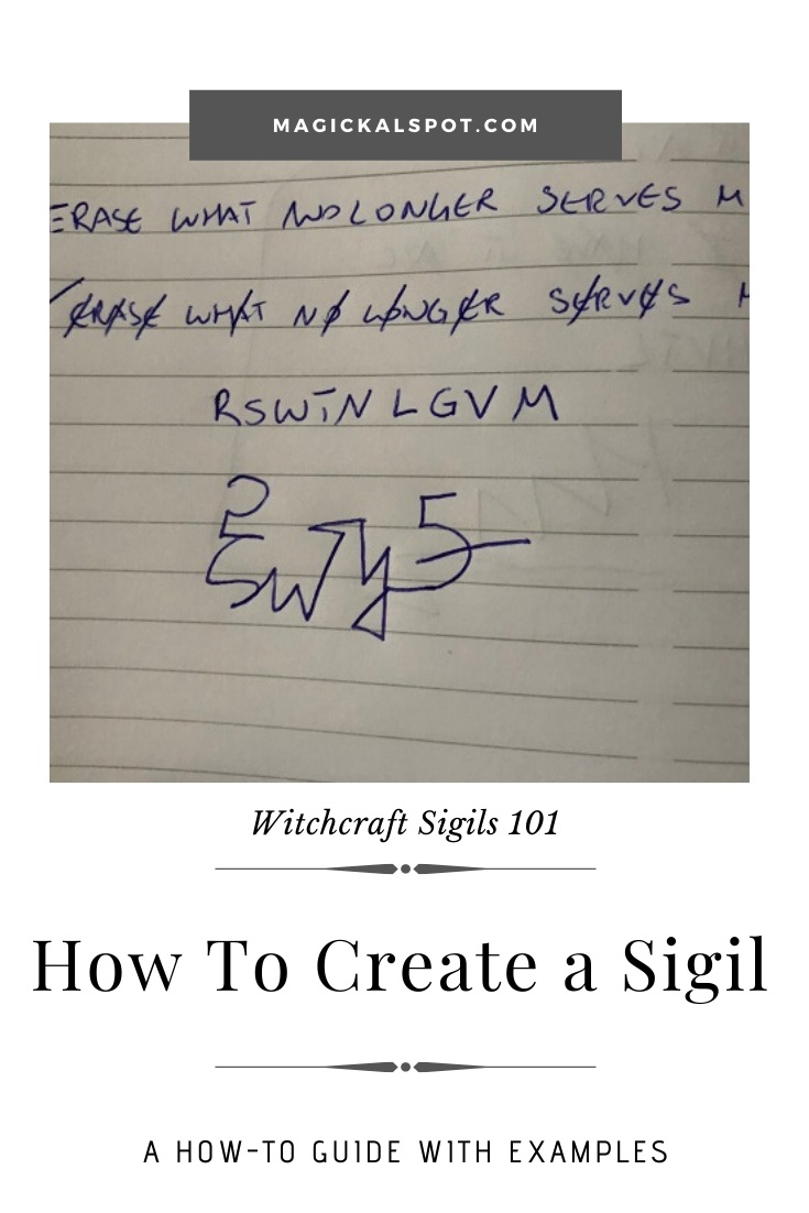 How to Create a Sigil by MagickalSpot