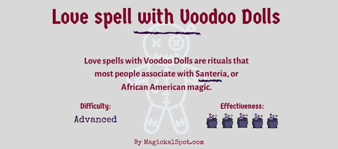 Love spell with Voodoo Dolls
