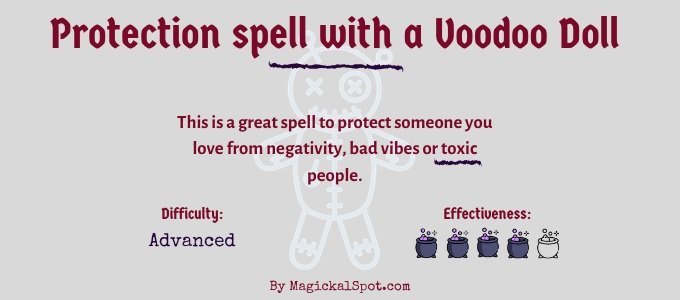 Protection spell with a Voodoo Doll