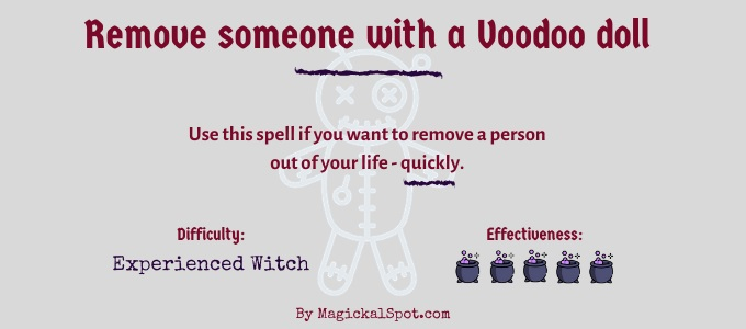 Remove someone with a Voodoo doll
