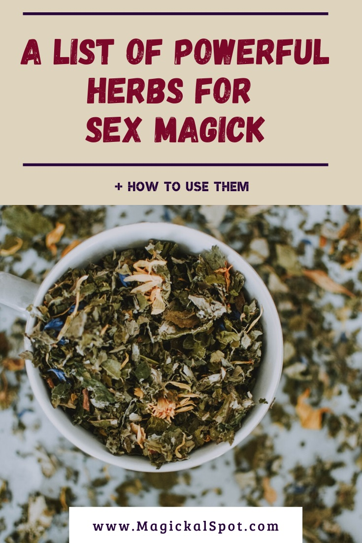 A List of Powerful Herbs for Sex Magick by MagickalSpot