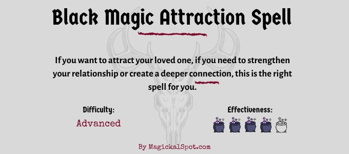 Black Magic Attraction Spell