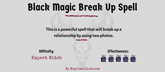 Black Magic Break Up Spell
