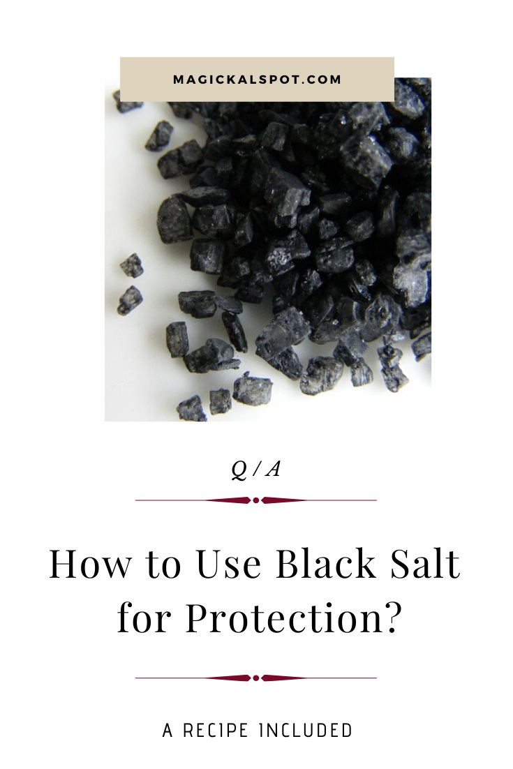 How to Use Black Salt for Protection by MagickalSpot