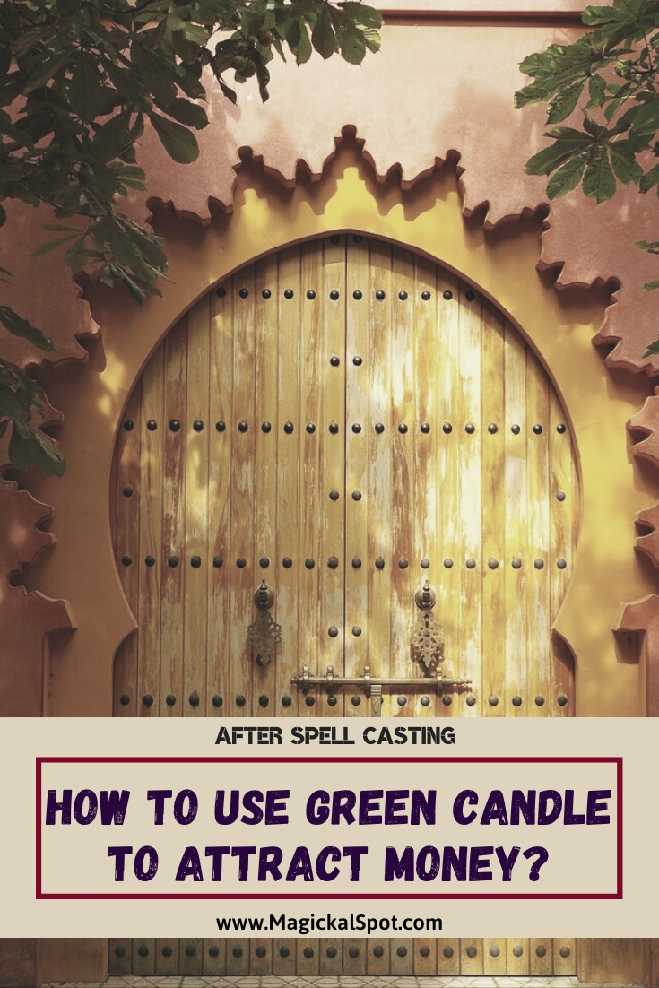 How to Use Green Candle to Attract Money by MagickalSpot