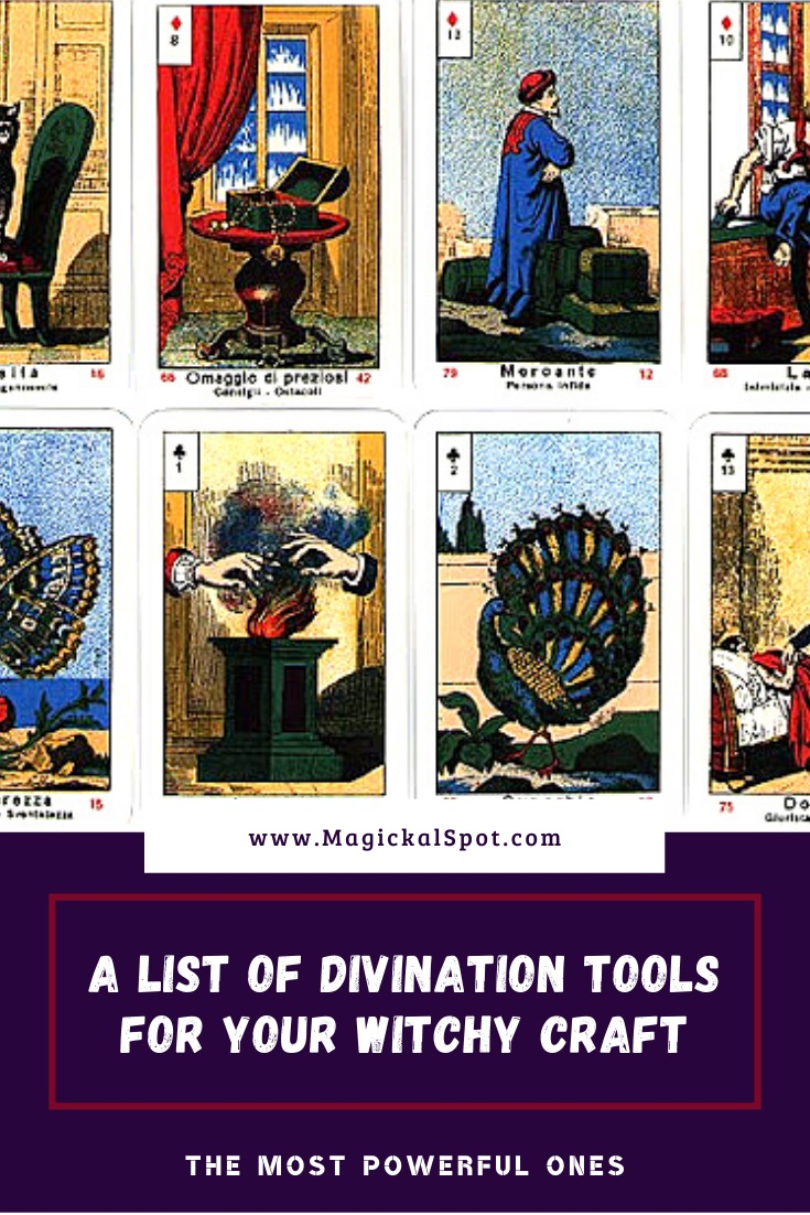 A List of Divination Tools for Your Witchy Craft by MagickalSpot