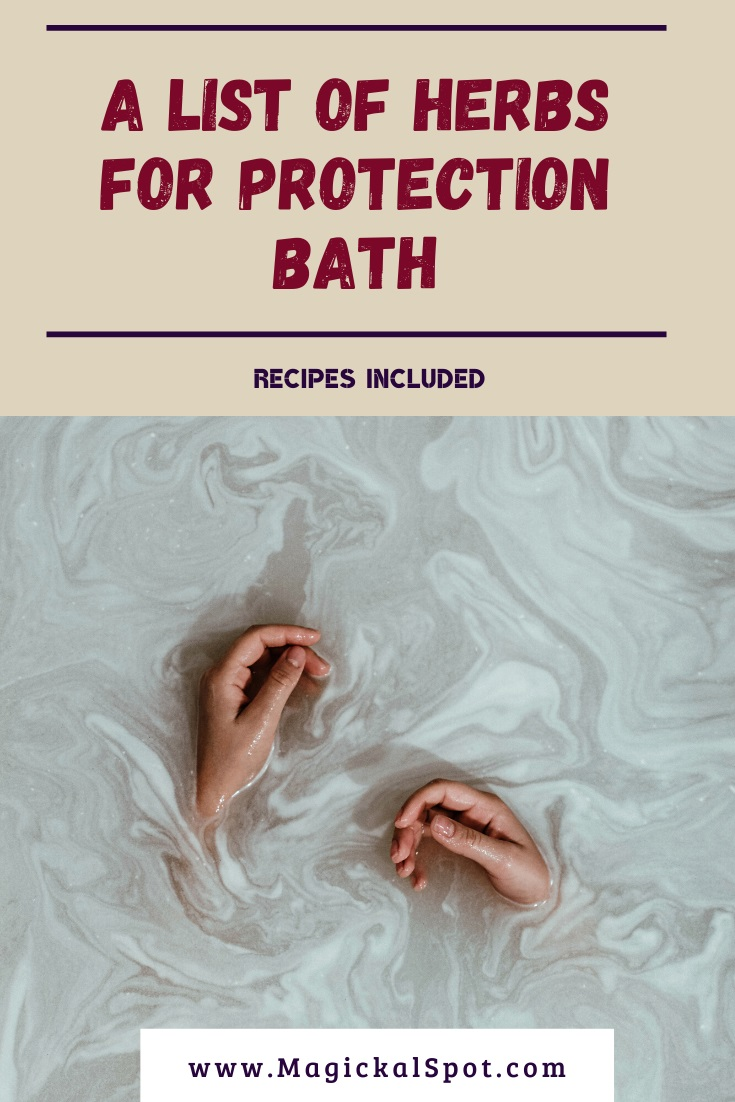 A List of Herbs for Protection Bath by MagickalSpot