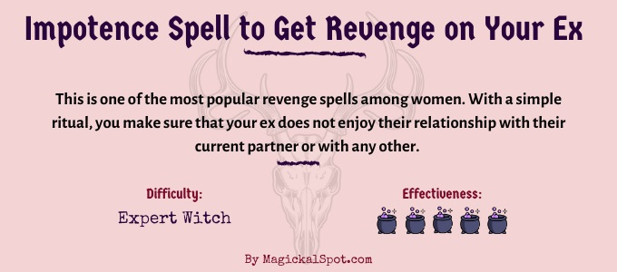 Impotence Spell to Get Revenge on Your Ex