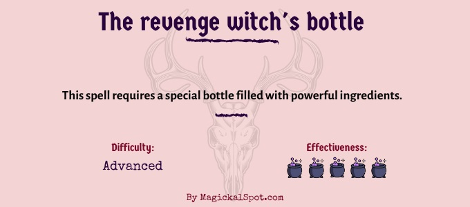 The revenge witch's bottle