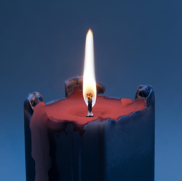 reverse candle