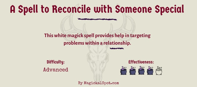 A White Magick Spell to Reconcile with Someone Special