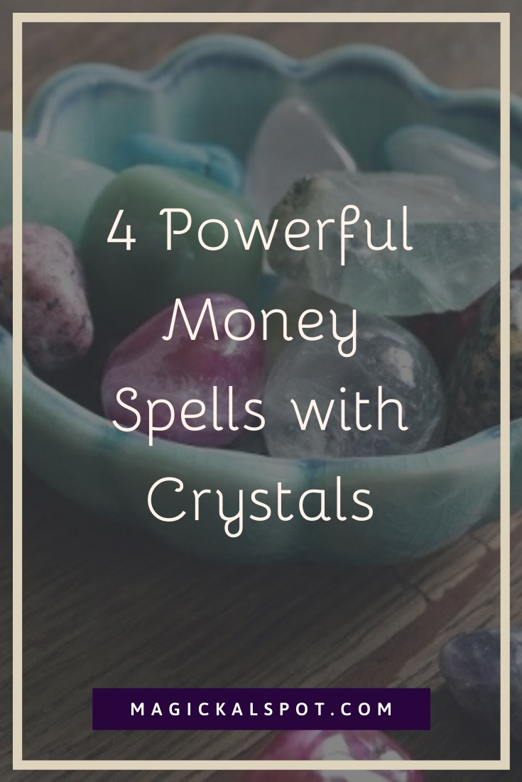 Money Spells with Crystals by MagickalSpot