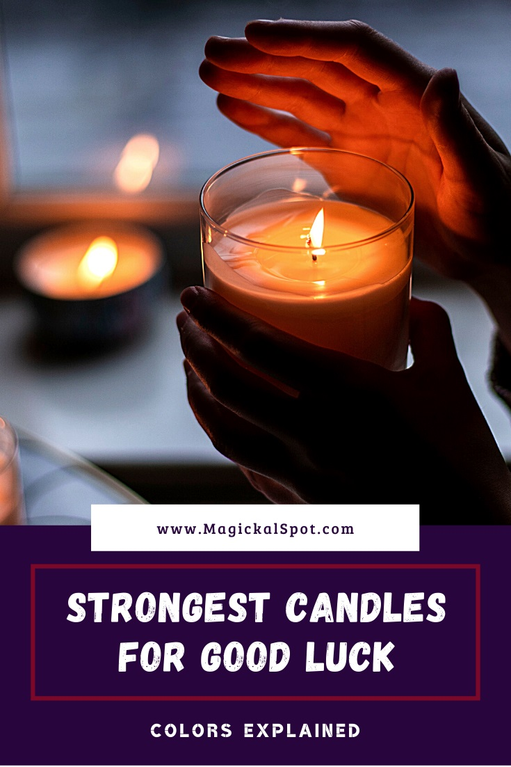 Strongest Candles for Good Luck by MagickalSpot