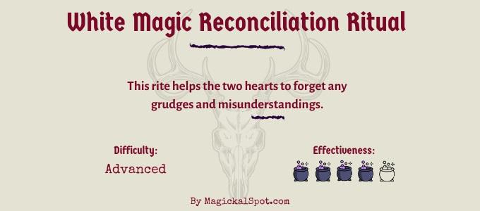 White Magic Reconciliation Ritual